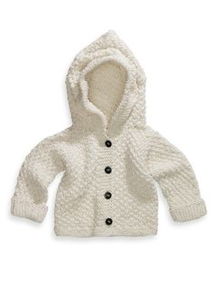 Baby knit LOOVE this. Source by simpsonjoan Hoodies Knitting Kits, Knitting For Kids, Baby Knitting Patterns, Knitting Projects, Preemie Clothes, Knitted Baby Cardigan, Baby Coat, How To Purl Knit, Baby Sweaters