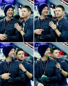 Image via We Heart It #jaredpadalecki #JensenAckles #supernatural #j2