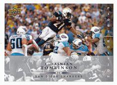 LaDainian Tomlinson # 120 - 2008 Upper Deck First Edition Football