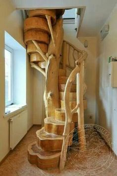 Home Discover love this staircase solid raw wood - Wood Design Wooden Stairs Log Furniture System Furniture Staircase Design Wood Staircase Spiral Staircases Staircase Ideas Staircase Architecture Small Space Staircase Wooden Stairs, Log Furniture, Furniture Reupholstery, System Furniture, Handmade Furniture, Raw Wood, Wood Wood, Wood Tree, Wood Slab