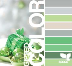 50 shades of green=my favorite color palette