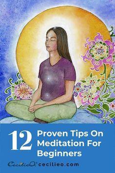 12 Essential Tips On Meditation For Beginners Free Guided Meditation, Types Of Meditation, Best Meditation, Meditation For Beginners, Meditation Techniques, Meditation Practices, Mindfulness Meditation, Meditation Gifts, Chakra Meditation