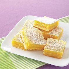 Lemon Bars Recipe | MyRecipes.com Mobile