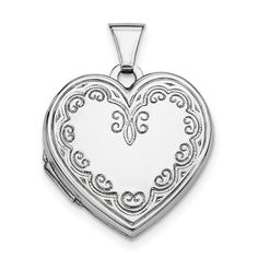 925 Sterling Silver Heart Photo Pendant Charm Locket Chain Necklace That Holds Pictures Fine Jewelry Gifts For Women For Her Locket Charms, Heart Locket, Locket Necklace, Necklaces, Jewelry Gifts, Fine Jewelry, Women Jewelry, Silver Lockets, Photo Heart