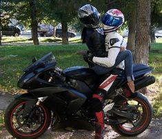 Biker Couple | Flickr