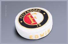 Feyenoord taart - 't Bakfabriekje