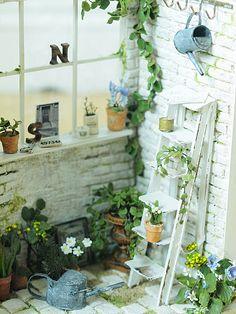 miniatura * Naturel Cafe exterior: el color natural de la vida ~ muebles hechos a mano