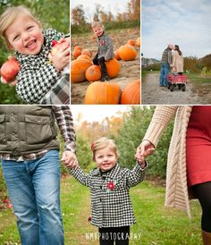 apple orchard and pumpkin patch family photos by NMD Photography