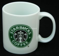 Starbucks MERMAID LOGO 9oz Coffee Mug