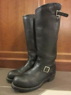 Riders Jacket, Engineer Boots, Tall Boots, Riding Boots, Biker, Denim, Vintage, Shoes, Fashion