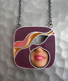 I'm a Barbie Girl.. Jewellery made from Barbie Dolls -Love it.