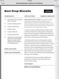 Atk drop biscuits