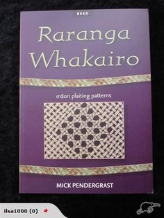 Raranga Whakairo is an invaluable resource for beginners and for skilled kete ma… – 2019 - Weaving ideas New Zealand Flax, Flax Weaving, Maori Designs, Maori Art, Weaving Patterns, Weaving Techniques, East Cape, Teaching Resources, Arts And Crafts