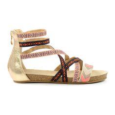 Aztec gladiator sandalen