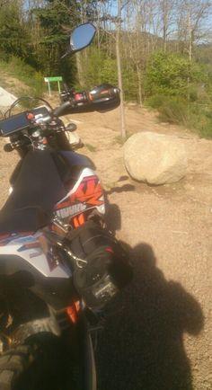 No tarmac? No problem. Adventure touring; KTM 690 Enduro style