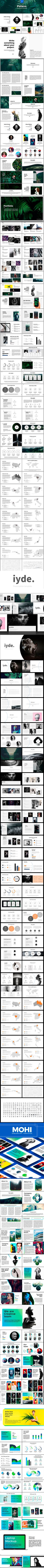 Bundle 3 in 1 — Powerpoint PPTX #powerpoint template #powerpoint theme • Available here ➝ https://graphicriver.net/item/bundle-3-in-1/20816596?ref=pxcr