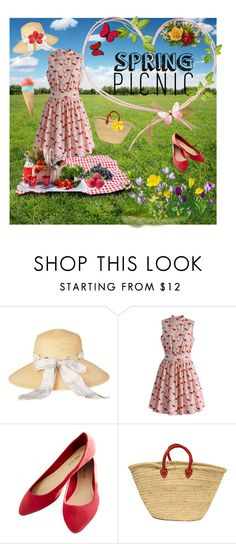 """Flower Spring"" by tigrenoknika ❤ liked on Polyvore featuring beauty, Barbour, Chicwish, Wet Seal and springpicnic"