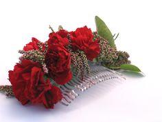 Grzebyk ozdoba do włosów - wesele Crown, Plants, Jewelry, Jewellery Making, Corona, Jewels, Jewlery, Jewerly, Plant