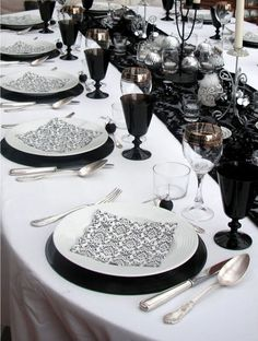 Chic and cheap. . . Yes, mismatched silverware.