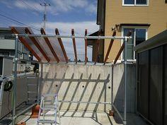 自転車小屋作ったった - 庭いじりの日々