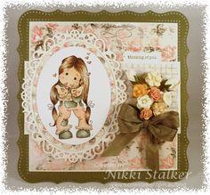 Loves Rubberstamps « Nikki Stalker – Independent Stampin' Up!® Demonstrator Western Sydney/Hills District - Magnolia Stamps Tilda Blowing Hearts