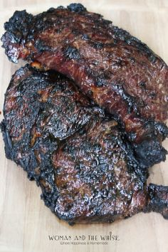 Black Nugget Ribeye The Perfect Marinade For Steaks Difficulty: Easy Prep Time: hours Cooking Time: minutes Ingredient. Steak Marinade Recipes, Meat Marinade, Grilled Steak Recipes, Grilling Recipes, Sauce Recipes, Meat Recipes, Black Nugget Marinade Recipe, Weber Recipes, Cooking