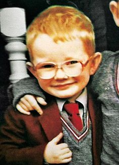 The young #EdSheeran at junior school