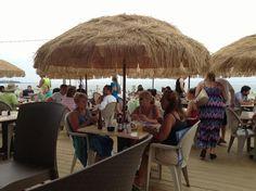 Just opened. Hampton Beach Nh, White Mountains, Beach Bars, New Hampshire, The Hamptons, Beaches, Boston, Restaurants, Patio