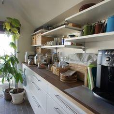猫の遊び場とインテリアが一体化。 夫婦と姉妹猫が仲良く暮らす家 - NECODOMA - (キッチン2)