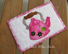 Patchouli Moon Studio~Fabric Quilted Postcards