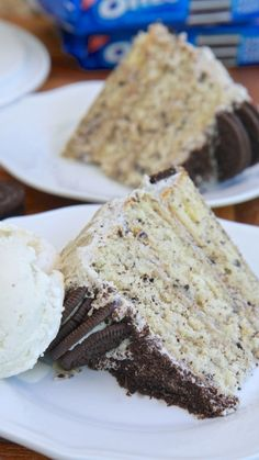 Homemade Cookie N Cream Cake Recipe | Divas Can Cook