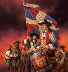 Carignan-Salieres Regiment was the first regular French army unit to defend New France. Approximately men arrived in Canada in the middle of Louis Xiv, Military Art, Military History, Military Uniforms, Quebec, War Drums, Thirty Years' War, Canadian History, French Empire