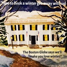 Great article in the Boston Globe featuring The Inn at Weathersfield. VT https://www.bostonglobe.com/lifestyle/2016/02/04/cozy-inns-make-you-love-winter/gPN07sdDaS92fFeVwP4RrJ/story.html