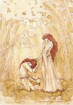 Maedhros and Nerdanel