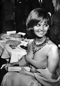 Claudia Cardinale - If you're not English, you're a foreigner - so you must be sexy. it's an old British cliché.