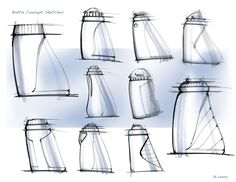 orthographic bottle design drawings - Google Search