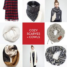 Spotted! The ultra cozy Fireside Scarf in Design Crush's winter roundup. www.designcrushblog.com