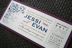 Simple Wedding Invitation Invitation Ideas, Invite, Wedding Stuff, Wedding Day, Simple Wedding Invitations, Stationary, Bridesmaids, Fun, Inspiration