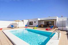 Take A Look At Villa Maria Lanzarote In Playa Blanca, Lanzarote Villa With Private Pool, Heated Pool, Canary Islands, Spain, To Go, Villas, Outdoor Decor, Travel, Holiday