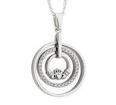 Shamrock Pendant | Irish Handcrafted Jewellery | Irish jewel Irish Jewelry, Handcrafted Jewelry, Celtic, Washer Necklace, Jewels, Jewellery, Pendant, Silver, Handmade Chain Jewelry