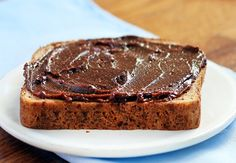 Better than Nutella, with just half the calories and a third of the sugar. But this chocolate spread tastes just as creamy and rich as regular Nutella. One of my favorite recipes!