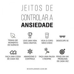 Ansiedade Anti Stress, Success, Better Life, Self Love, Just In Case, Mental Health, Anxiety, Knowledge, Mindfulness