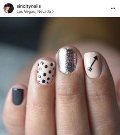 Black | Arrow Decals | Half Pack Nail Decal | Aztec Nails | Arrow Nail Art | Valentines Nails | Nude Nails | Nail Decals | Nail Art SHOP Nail Decals weloveglitterdesign.com