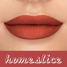Looking for the perfect peachy nude?! Check out our tarteist™ quick dry matte lip paint in #homeslice! #tartecosmetics