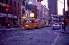 Downtown Baltimore Early 1960s / Howard & Fayette Streets
