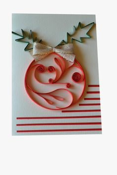 KARTECZKI LIDY vel Creative Hand :): quillingowych choinek ciąg dalszy :) Quilling Christmas, Christmas Crafts, Christmas Decorations, Christmas Ornaments, Christmas Ideas, Xmas Cards, Greeting Cards, Paper Quilling, Quilling Ideas