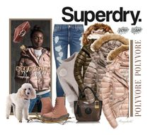 """The Cover Up – Jackets by Superdry: Contest Entry"" by ragnh-mjos ❤ liked on Polyvore featuring Superdry, Tommy Hilfiger, TIBI, Fuji, Dr. Martens, Accessorize, Edge Only and Diane Kordas"