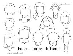 More Difficult Faces