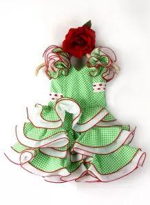 Vestidos de Flamenca Niñas, Talla 1