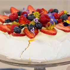 Try this Perfect Pavlova recipe.